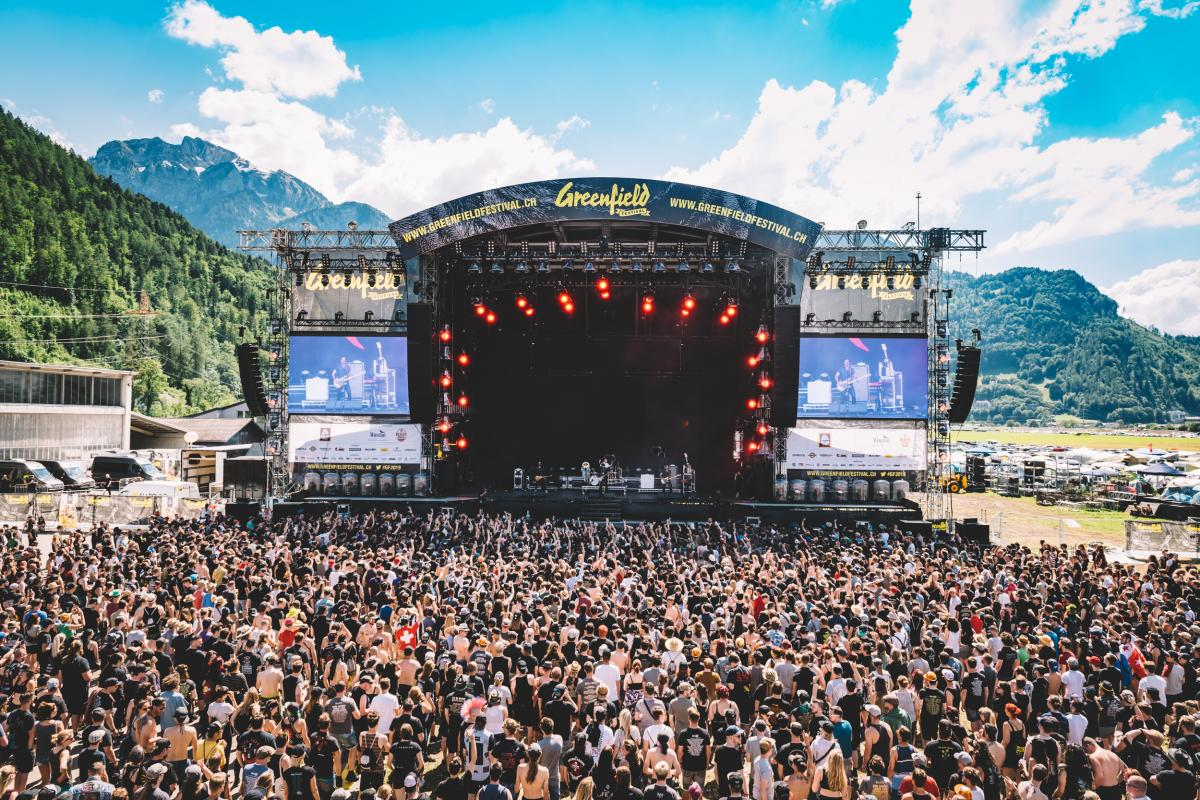 Bühne am Greenfield-Festival 2019